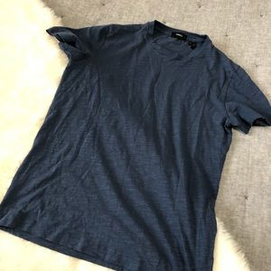 Theory Koree strato blue crew neck shirt sz.S